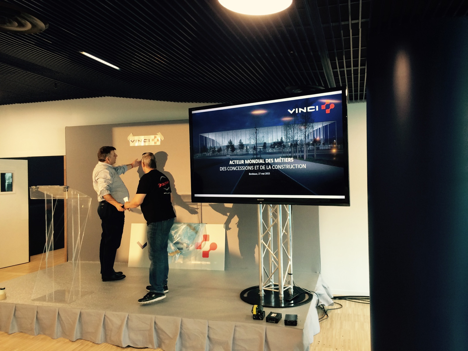 En Live de Bordeaux à quelques heures de la Keynote du PDG de Vinci