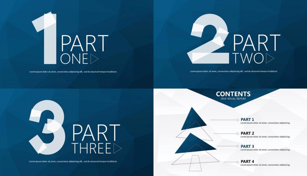 3. Créez des slides de transition